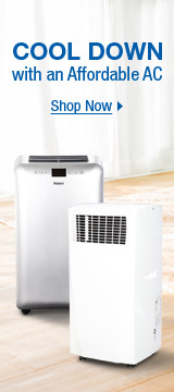 Cool down with an affordable AC