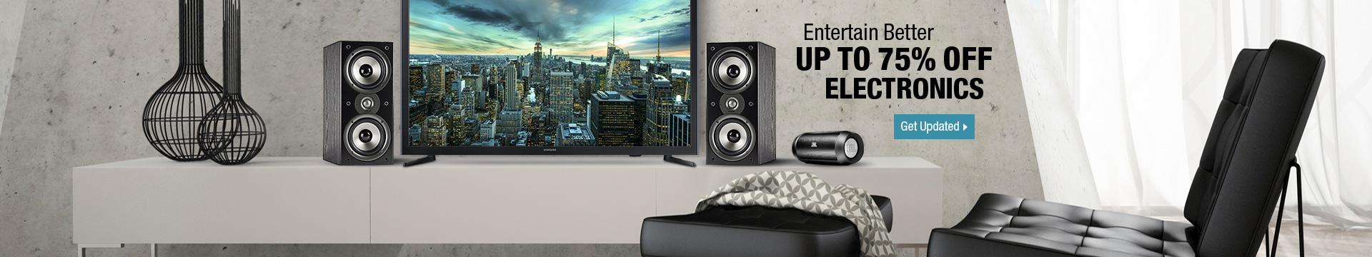 Week-Long Markdowns - Entertain Better Up to 75% off Electronics
