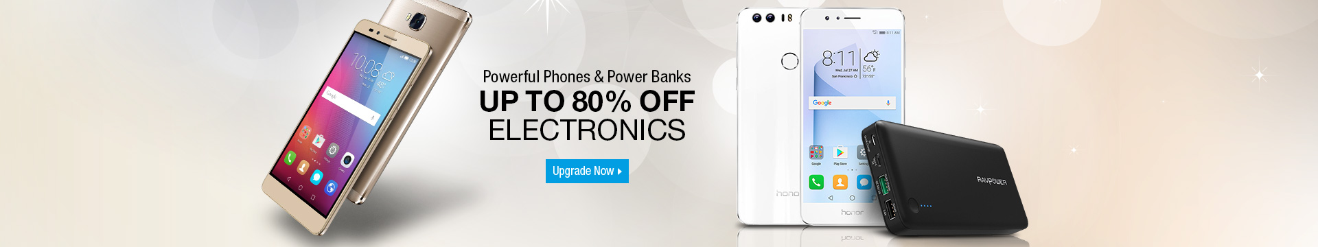 Powerful Phones & Power Banks
