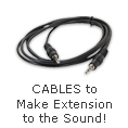 Cables to make Extension to the Sound!