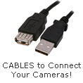 Cables to connect your Cameras!