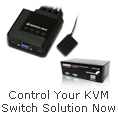 Control your KVM Switch solution now