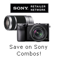 SAVE INSTANTLY on Sony Cameras & Lens Combos