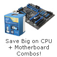 Save Big on CPU + Motherboard Combos!
