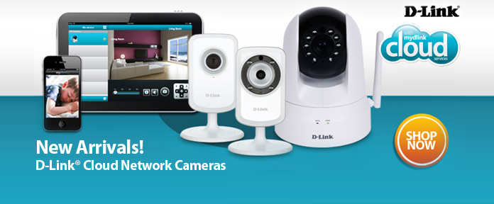 D-Link Cloud Network Cameras