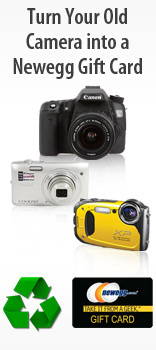 Turn Your Old Cameras into a Newegg Gift Card