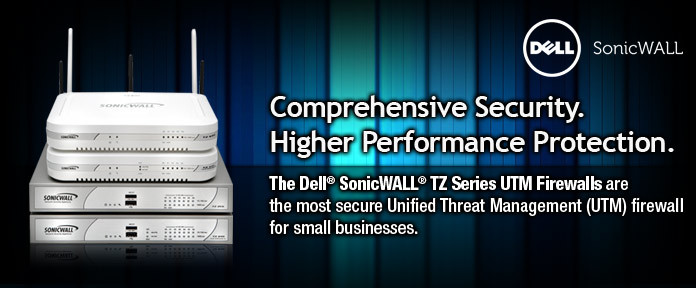 Control, manage and protect your network easily and automatically with intuitive security solutions from Dell® SonicWALL®