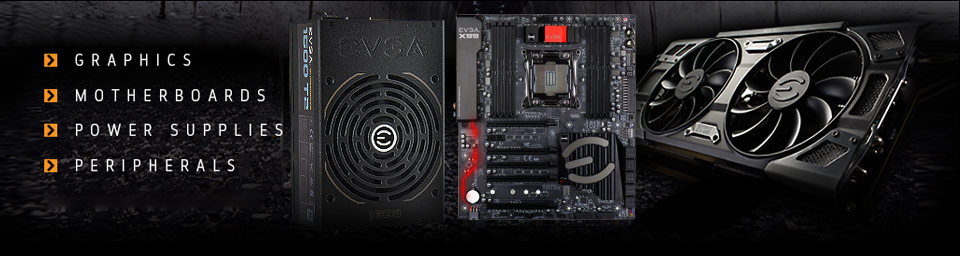 Graphics, Motherboards, Power Supplies, Peripherals