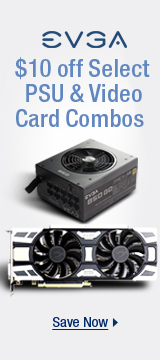 $10 off select PSU & Video card combos