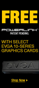 Free powerlink with select EVGA 10- series graphics cards