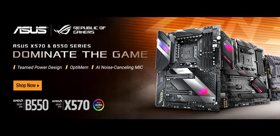 ASUS_AMD Zen3 X570/B550