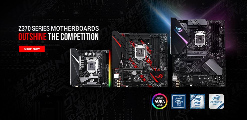 ASUS Intel 300 Series Motherboards