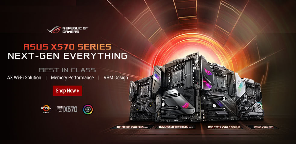 ASUS Intel 300 Series Motherboards