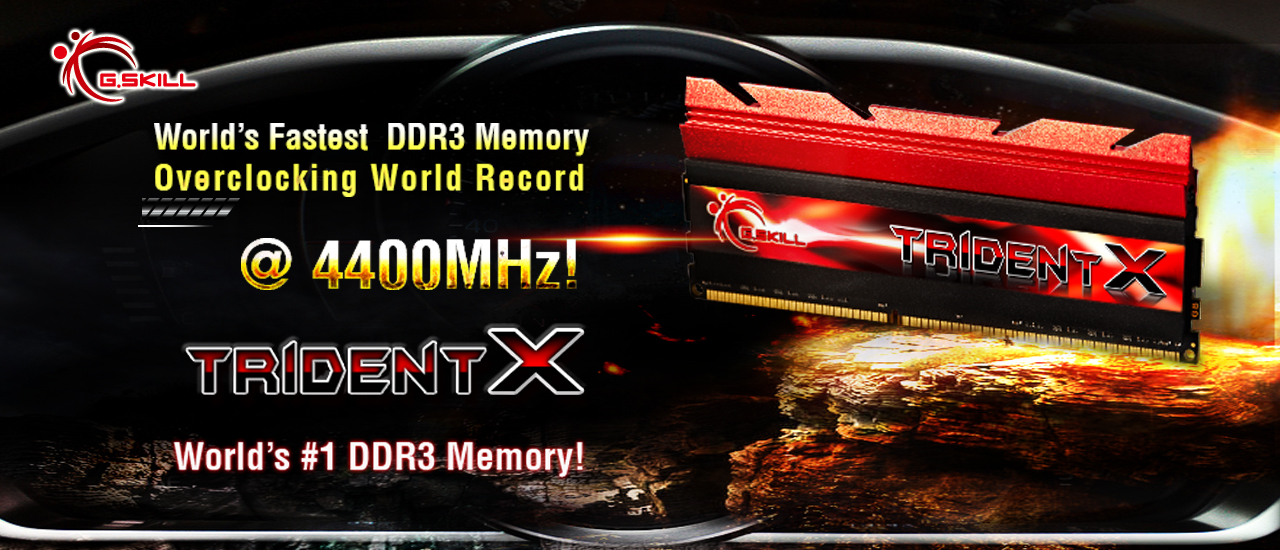World's Fastest DDR3 Memory Overclocking World Record