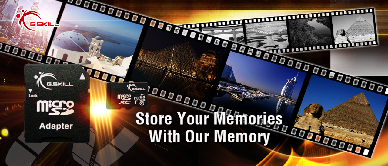 Store Your Memories With Our Memory
