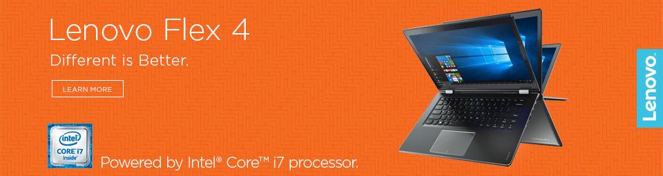 Lenovo Flex 4 banner