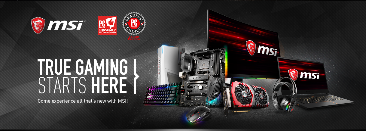 MSI - Laptops, Motherboards, Graphics Cards & More - Newegg com