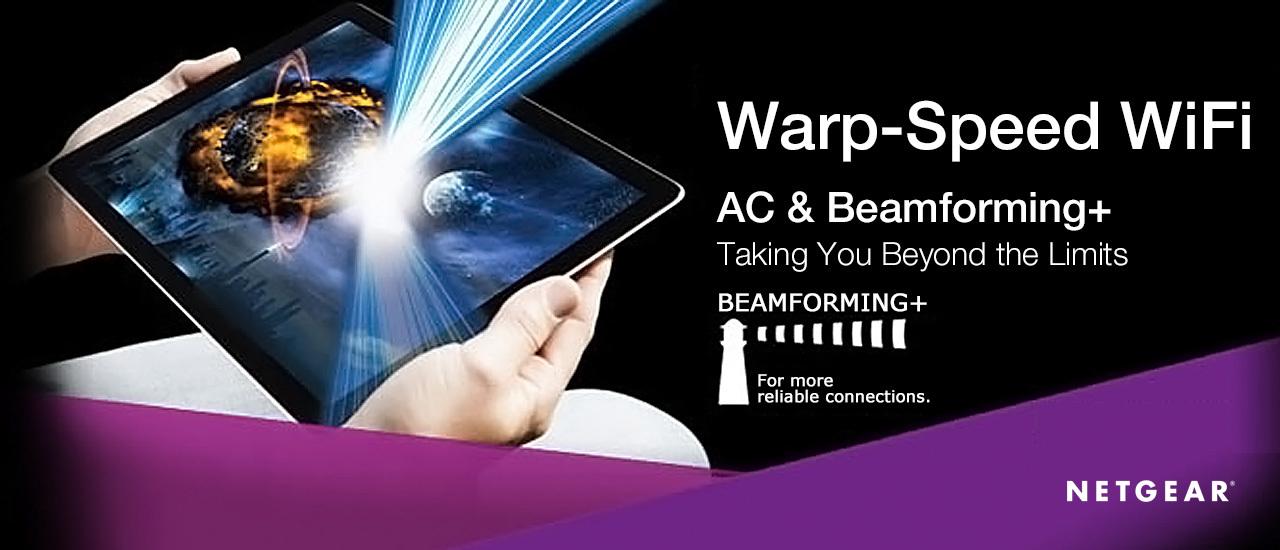 Warp-Speed WiFi