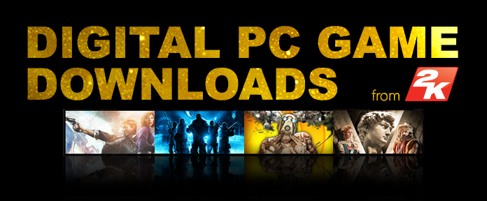 Digital PC game downloads from 2K