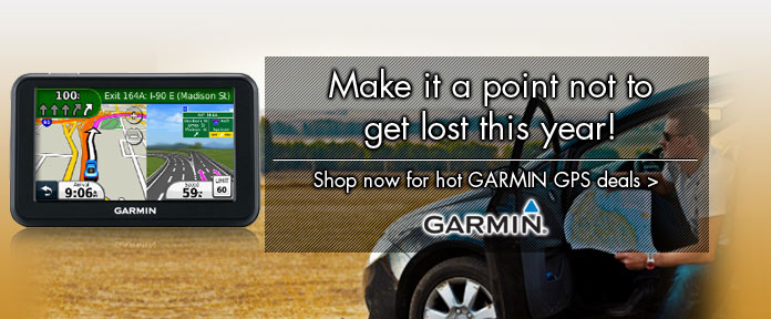 Garmin: Make It A Point To Not Get Lost This Year