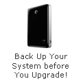 Back Up Your System before You Upgrade!