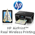 HP airprint real wireless printing