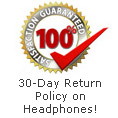 30 Day Return Policy for Headphones