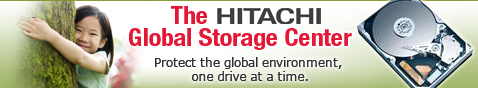 The HITACHI global storage center