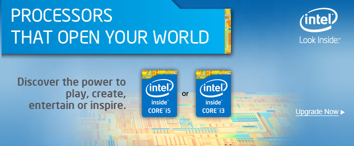 DISCOVER MORE WITH INTEL® PROCESSORS