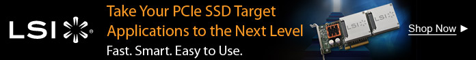 Take Your PCIe SSD Target Applications to the Next Level