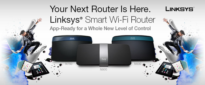 Your next router is here.