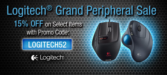 Logitech® Grand Peripheral Sale