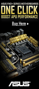 ASUS FM2+ Series Motherboards: Boost APU Performance