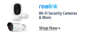 Wi-Fi Security cameras & more