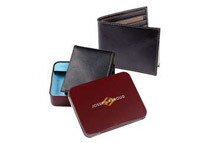 Joseph Abboud Men's Leather Wallet with ID Window (Tri-Fold or Bi-Fold)