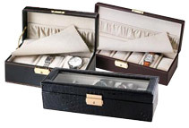Aguchi Watch Box Display Case with Lock (3 Styles)