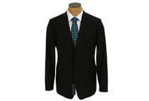 Elie Tahari Men's Solid Black Wool Mohair Suit