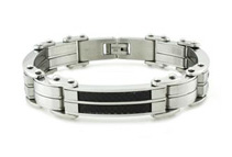 Men's Stainless Steel Bracelets (5 Options)