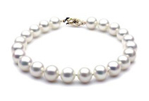 7 1/2inch 14k White Gold Freshwater Pearl Bracelet (2 colors)