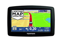 GPS Navigation with Lifetime Map Updates (2 Options)