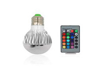 16 Color RGB LED Lamp with Remote Control