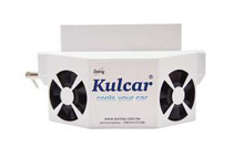 Kulcar Solar Powered Car Cooler Ventilator