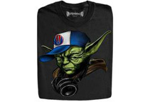 The Coolest DJ Jedi Master Black T-Shirts (5 Sizes)