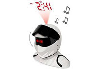 Top Gear's The Stig Projector Alarm Clock w/ Lights & Sound