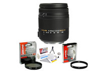 Sigma Super Zoom 18-250mm f/3.5-6.3 DC Macro OS HSM Lens Kit