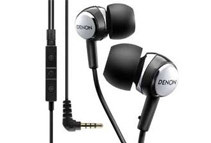 Denon Elite In-Ear Headphones w/ 3-Button Remote and Mic