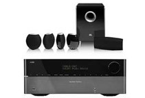 Harman Kardon 7.1 Ch 3D AV Receiver + JBL CS480 5.1 Speaker System Bundle