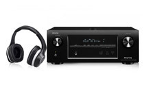 Denon Home Theater Receiver + Music Maniac Headphones Bundle