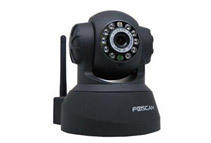 Foscam Wireless Network Camera w/ Night Vision 3.6mm Lens 67° Viewing Angle