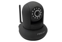 Foscam Wireless/Wired Pan Tilt IP Surveillance Camera (2 Colors)